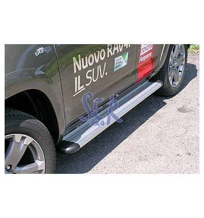 ESTRIBOS ALUMINIO S50 - RAV4 2010 4P
