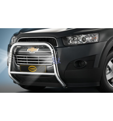 DEFENSA DELANTERA 60MM LED - CAPTIVA 2011 - 2013