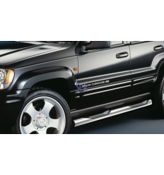 ESTRIBOS ACERO 80MM - GRAND CHEROKEE WJ 1999 - 2004