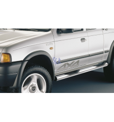 ESTRIBOS ACERO 80MM - FORD RANGER 1999 - 2006