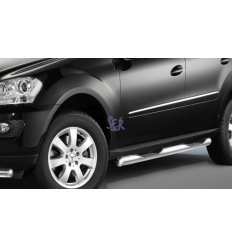 ESTRIBOS ACERO 80MM - MERCEDES ML 2011-