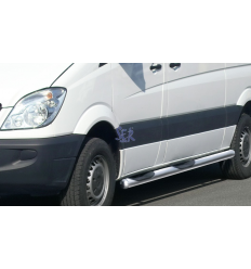 ESTRIBOS ACERO 80MM - MERCEDES SPRINTER SWB 2006 - 2013