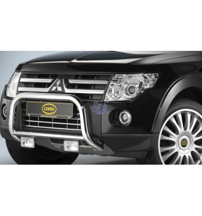 DEFENSA DELANTERA 80MM - MONTERO V80 2007 - 2011