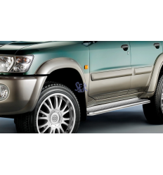 Estribos Plataforma Acero - Nissan Patrol GR Y61 [2002-2004]