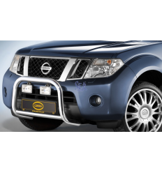 DEFENSA DELANTERA 60MM - NAVARA D40 2010