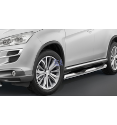 ESTRIBOS ACERO 80MM - PEUGEOT 4008 2013-