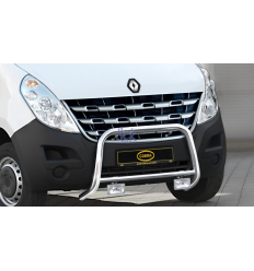 DEFENSA DELANTERA 60MM - RENAULT MASTER 2010-