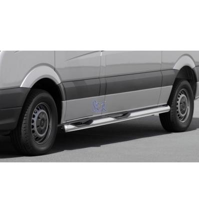 ESTRIBOS ACERO 80MM - VW CRAFTER 2006 - 2011