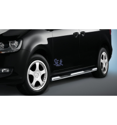 ESTRIBOS ACERO 60MM - VW SHARAN 2010-