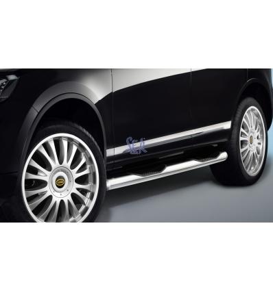 ESTRIBOS ACERO 80MM - VW TOUAREG 2010