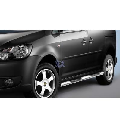 ESTRIBOS ACERO 60MM - VW CADDY MAXI 2010