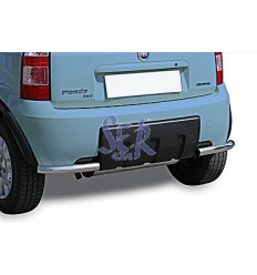 DEFENSA TRASERA FIAT PANDA 4X4 50MM