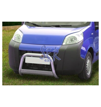 DEFENSA DELANTERA FIAT QUBO 60MM