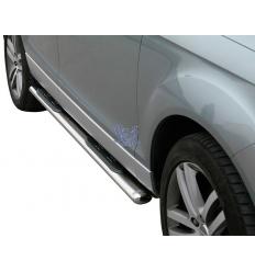Estribos Acero Ovalados - Audi Q7 2006 - 2015