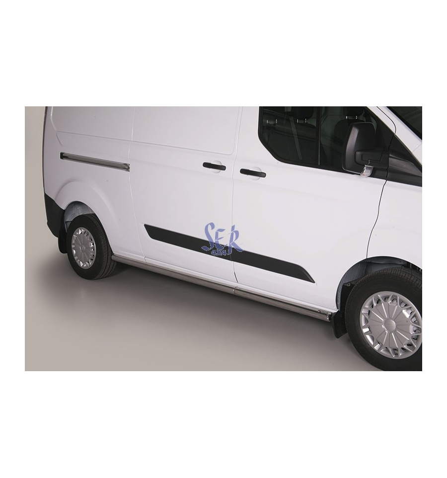63 Ford Transit Custom 2 2tdci Swb: ESTRIBOS TUBO 63MM - FORD TRANSIT Custom 2013-