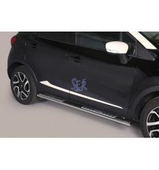 Estribos Laterales Ovalados Pisantes - Renault Captur 2013-