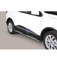 Estribos Laterales Ovalados Pisantes - Renault Kadjar 2015-