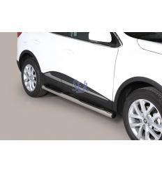 Estribos Laterales 76mm Pisantes - Renault Kadjar 2015-