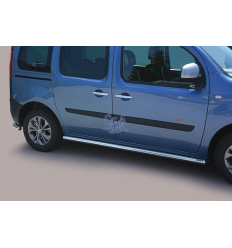 Estribos Laterales 63mm - Renault Kangoo 2013-