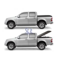 Cubierta Plana Aeroklas ABS - Ford Ranger Doble Cabina 2016-