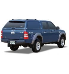 HardTop Alpha En Fibra - Sin Ventanas - Ford Ranger Doble Cabina 2006 - 2012
