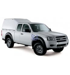 HardTop Sobre Elevado Sin Ventanas - Ford Ranger Extra Cabina 2006 - 2012