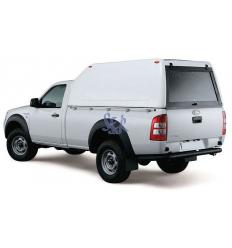HardTop Sobre Elevado Sin Ventanas - Ford Ranger Simple Cabina 2006 - 2012