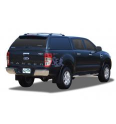 HardTop Alpha Fibra - Sin Ventanas - Ford Ranger Doble Cabina 2012-
