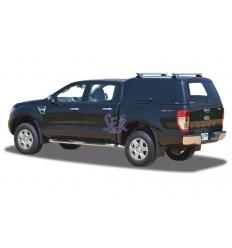 HardTop Alpha CME En Fibra Portones Laterales - Ford Ranger Doble Cabina 2012-