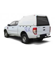 HardTop Sobre Elevado Sin Ventanas - Ford Ranger Simple Cabina 2012-