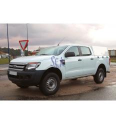 HardTop Metálico Sin Ventanas - Ford Ranger Doble Cabina 2012-