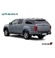 HardTop Alpha Type-E Fibra - Con Ventanas - Isuzu D-Max 2012-