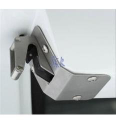 Hardtop ALPHA TYPE-E en fibra, con ventanas, imprimación (doble cabina)