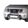 Defensa Delantera Central Inox 63mm - Nissan Navara D40 [2005-2015]