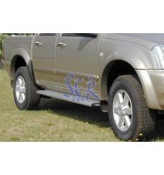 ESTRIBOS ALUMINIO S50 2/4 PUERTAS - D-MAX 2003 - 2007
