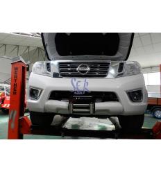 Base Cabestrante Oculta - Nissan Navara D23 2016-