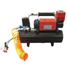 Compresor de Aire Con Calderin 12V