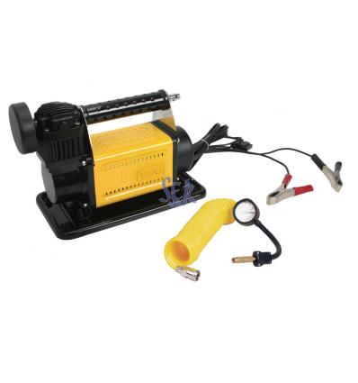 Compresor de aire portátil 160 Lpm con calderín de 12L - T-MAX