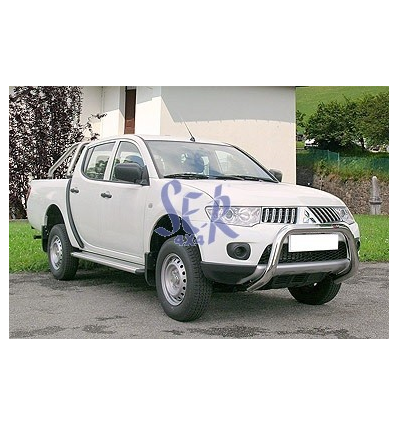 DEFENSA DELANTERA 60MM - L200 2010 DOBLE CABINA