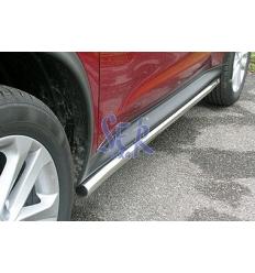 Estribos Acero Inox 50mm - Nissan Juke [2010-]